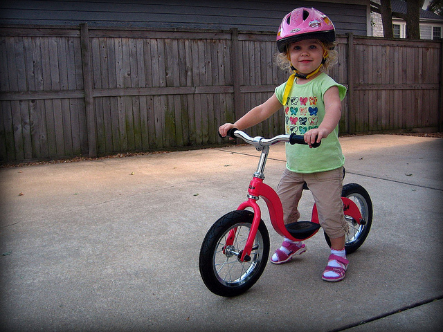 How to choose bike size for your 3-year-old kid?
